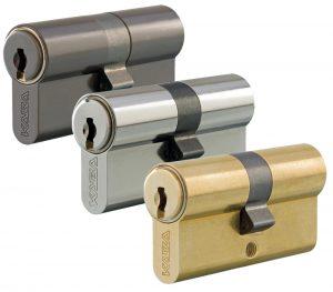 mechanische-schliessanlage-sicherheitstechnik-berlin-potsdam-verschiedene-farben-zylinder